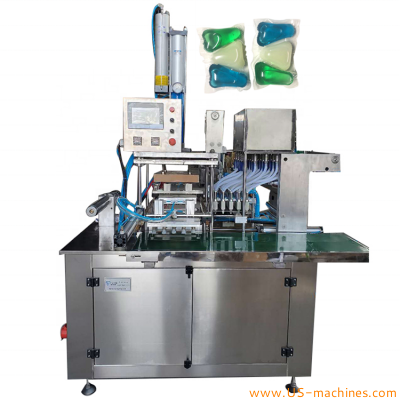 Automatic PVA laundry pod film packing machine detergent liquid granule powder pod soluble film laundry capsule pod making machine