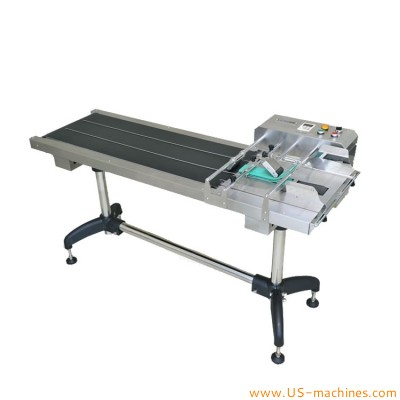 Automatic high speed empty bag pouch card paging feeding machine bag pouch counting dispensing machine
