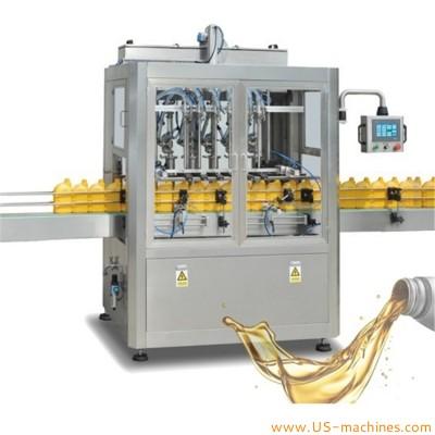 Automatic servo motor piston type linear automobile oil brake oil lub oil filling machine