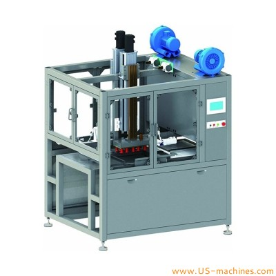 Automatic bags bottles pouch robot hand cartoning packing machine different product customized encasing line
