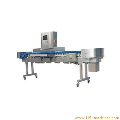 Automatic seafood meat fruit sorting grading machine food grade weight grade sorting equipment