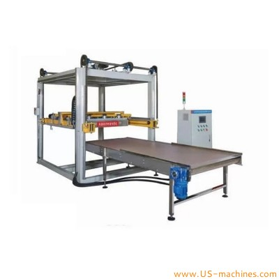 Automatic food can tin bottle palletizing machine metal can palletizier equipment
