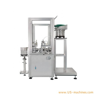 Automatic small vial tube ampoule filling plugging machine cosmetic bottle tube cartridge filling sealing machine