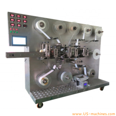Automatic band aid making machine