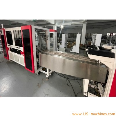 Automatic KF94 mask 4 side sealed bag packaging machine