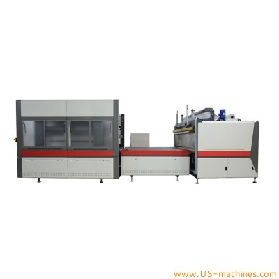 Automatic mattress bag film sealing vacuum pressing sealing packaging machine
