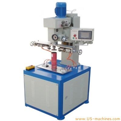 Semi automatic paper tube bottle sealing machine paper tube hose bottle seaming sealing machine sealer equipment