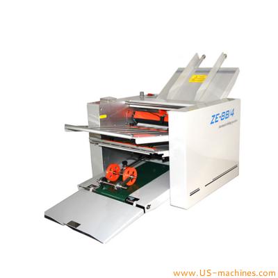 Desktop automatic A3 A4 paper sheet folding machine
