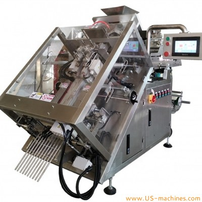 Automatic stand bag gusset bag packaging machine