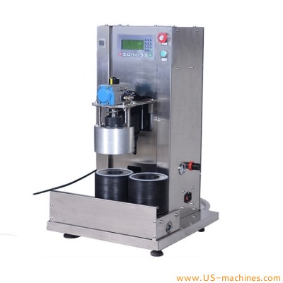Semi automatic twist off glass bottle vacuum capping machine sauce bottle mold jig witch type jar vacuum capping machine