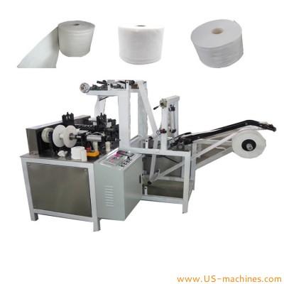 Non woven fabric single soft towl rolling winding machine film roll making winding machine
