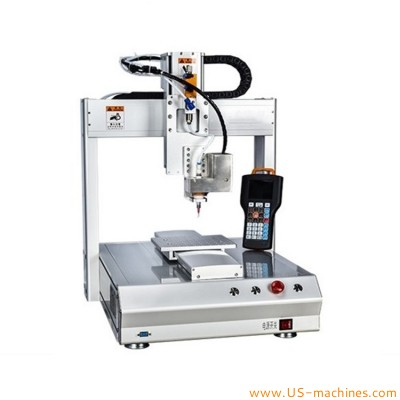 Automatic 4 axis type hot melt glue dispensing machine gluing system