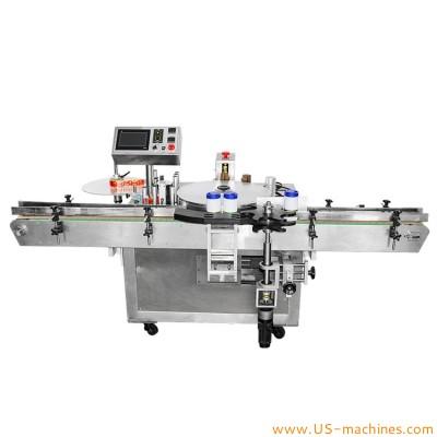 Automatic BOPP label hot melt glue labeling machine for bottles