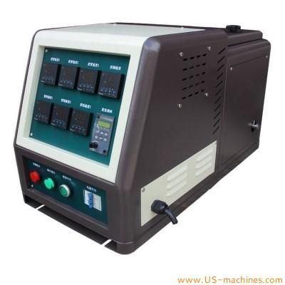 Hot melt glue machine hot melt glue tank feeding system