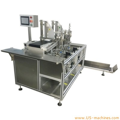 Automatic all in one mask folding bag inserting sealing packing machine