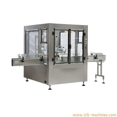 Automatic bottle neck grab rotary water rising washing machine glass bottle jar washing cleaning equipment