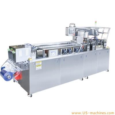 Automatic mask granule powder blister packaging machine