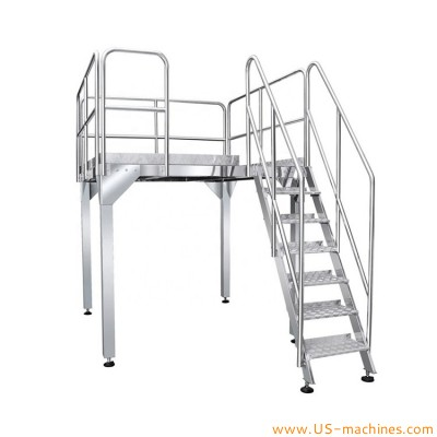Stainless Steel Working Platform Suport Platform for Weighing Filling Heads