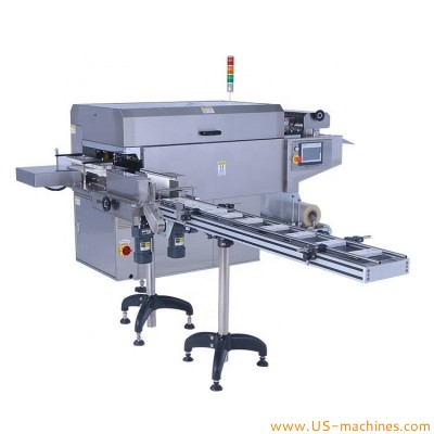 Automatic high speed box 3D film folding wrapping sealing machine